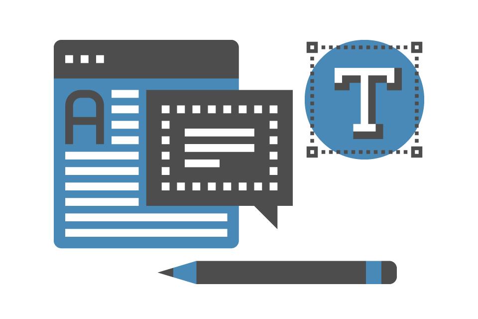 Grafikdesign für Web- und Printmedien